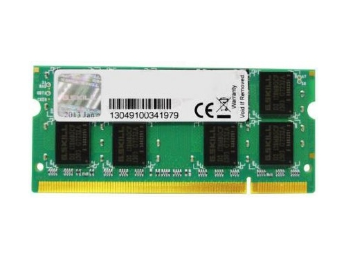 G.SKILL DDR2 2GB 800MHz CL5 SO-DIMM - F2-6400CL5S-2GBSQ