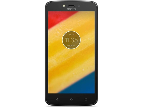 Smartfon Motorola Moto C Plus Bluetooth WiFi GPS 16GB Android 7.0 Starry Black