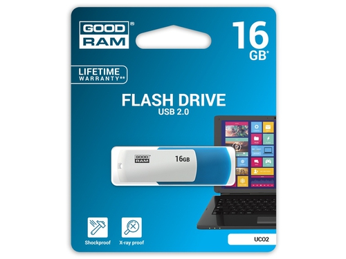Pendrive GoodRam Colour 16GB USB 2.0 UCO2-0160MXR11