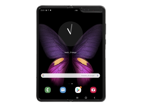 Smartfon Samsung Galaxy Fold 512GB Black LTE ANT+ Bluetooth WiFi NFC GPS Galileo DualSIM 512GB Android 9.0 Cosmos Black