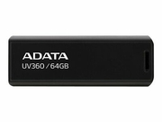 ADATA FLASHDRIVE UV360 64GB USB3.2 Black - AUV360-64G-RBK
