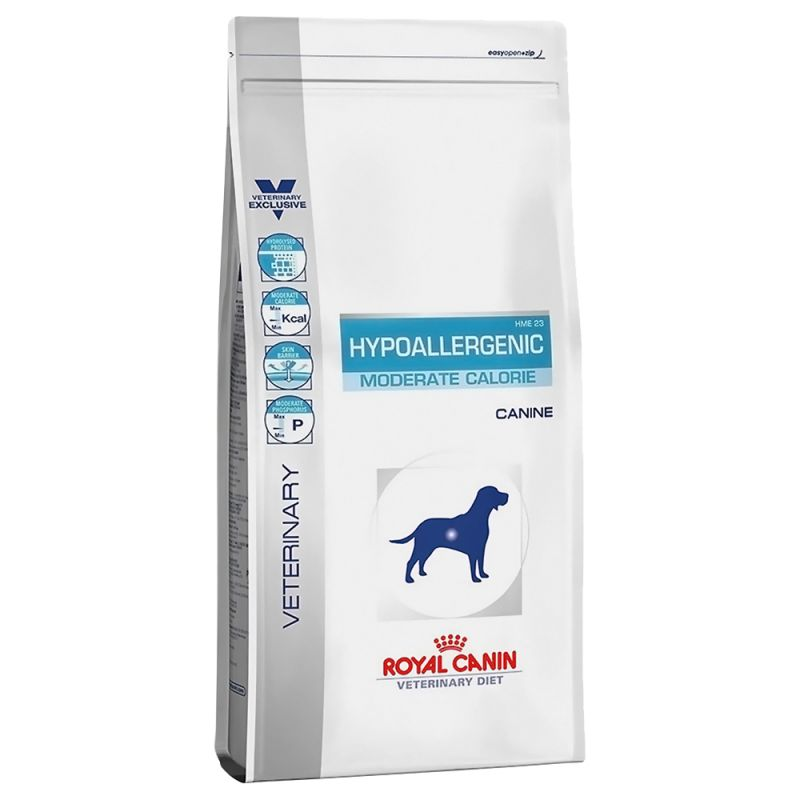 #Karma Royal Canin Hypoallergenic Moderate Calorie 7kg