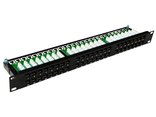 Patch panel UTP kat.6 ALANTEC Optimum- 1U - 48 port - PK030