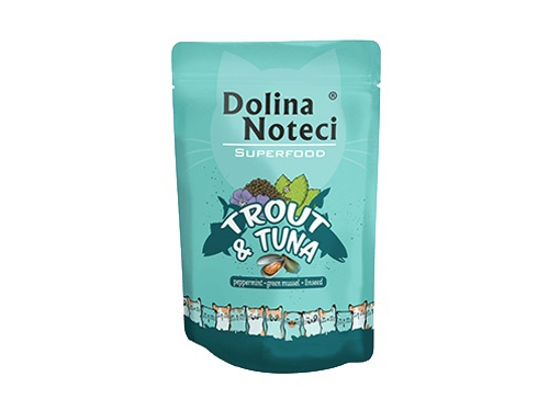 Dolina Noteci Superfood – pstrąg i tuńczyk 85 g