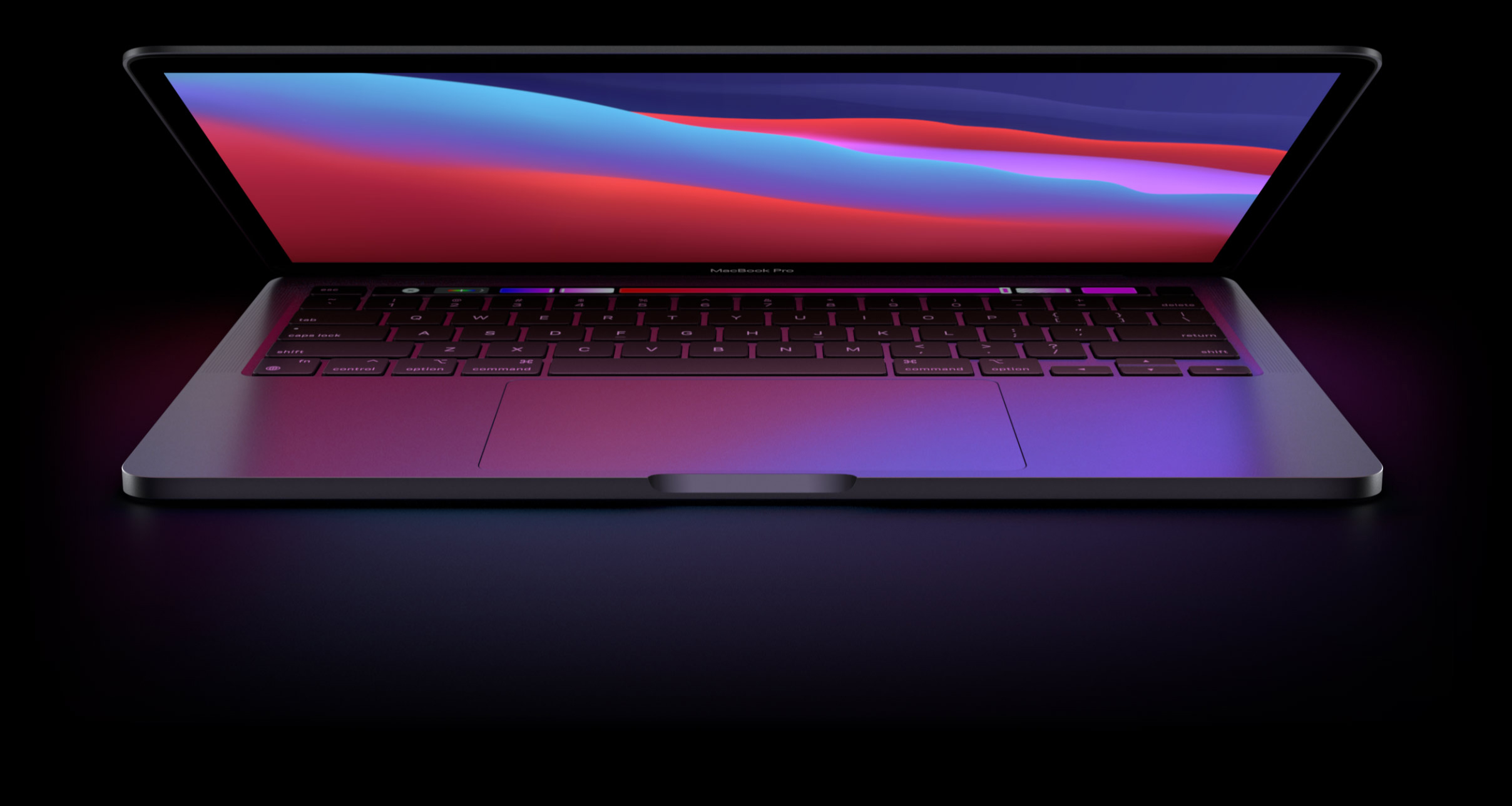 #Apple 13-inch MacBook Pro: Apple M1 chip with 8-core CPU and 8-core GPU, 256GB SSD - Silver