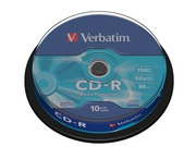 CD-R 700MB 52X EXTRA PROTECTION SP 10SZT - 43437
