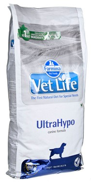 #FARMINA Vet Life ULTRAHYPO DOG 12kg