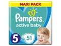 Pampers pieluchy Active Baby Dry Maxi Pack S5 51szt