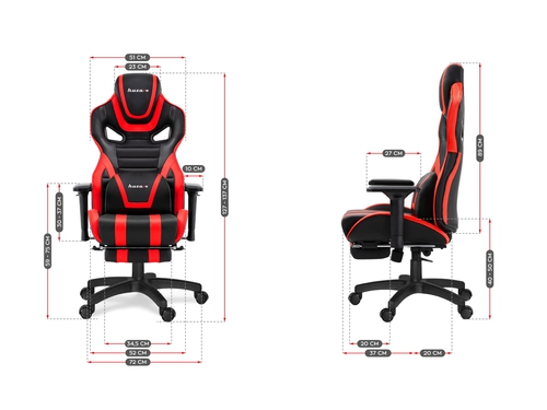 Fotel gamingowy HZ-Force 7.5 Red