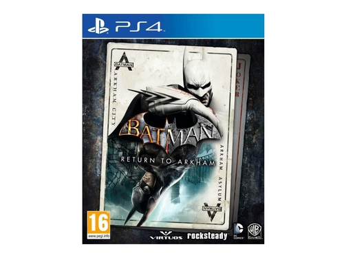 Gra PS4 Batman Return To Arkham wersja BOX