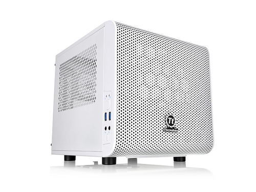 Obudowa Thermaltake Core V1 MiniITX Window-Snow Ed. - CA-1B8-00S6WN-01