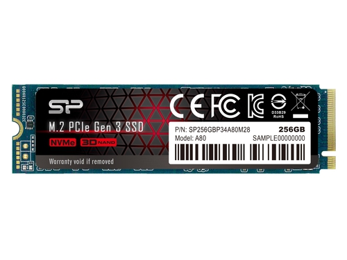 SSD Silicon Power Ace A80 256GB PCIe Gen 3x4 - SP256GBP34A80M28