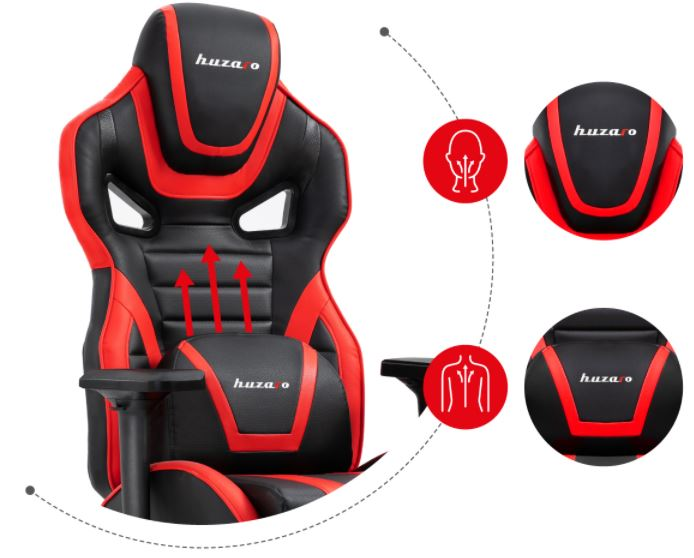 Fotel gamingowy HZ-Force 7.5 Red7