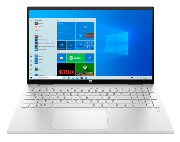 """#HP HP Pavilion x360 Convertible 15-er0129nw i3-1125G4 15,6""""FHD AG 250nit IPS 8GB_3200MHz SSD256 IrisXe BT5 CamHD USB-C B&O 43Wh Win10 2Y Natural Silver"""