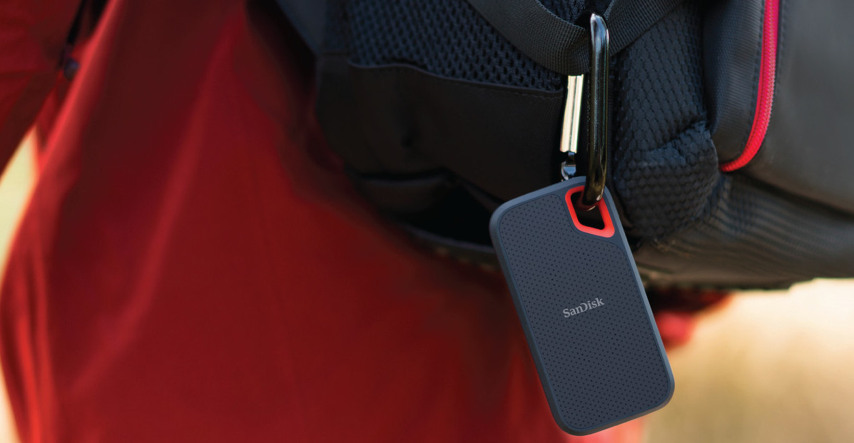 #SanDisk SSD Extreme Portable 2TB (550 MB/s)