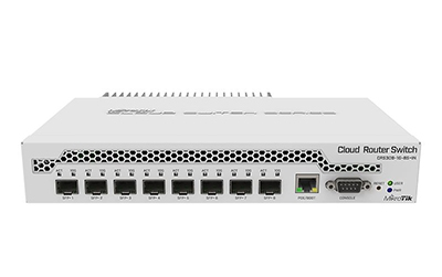 #MikroTik CRS309-1G-8S+IN Switch 1x RJ45 1000Mb/