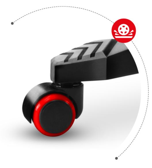 #Fotel gamingowy HZ-Combat 3.0 Red