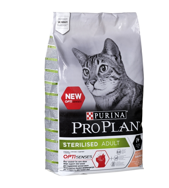 #Purina Pro Plan Sterilised Łosoś 10 kg