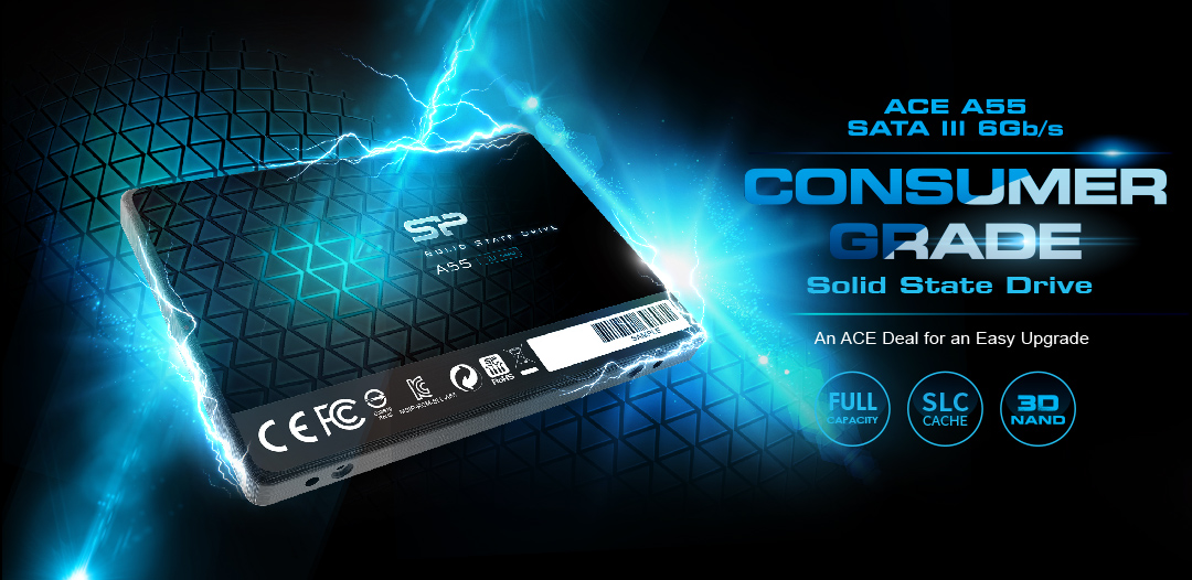 #SSD Silicon Power Ace A55 1TB SATAIII (3D NAND)