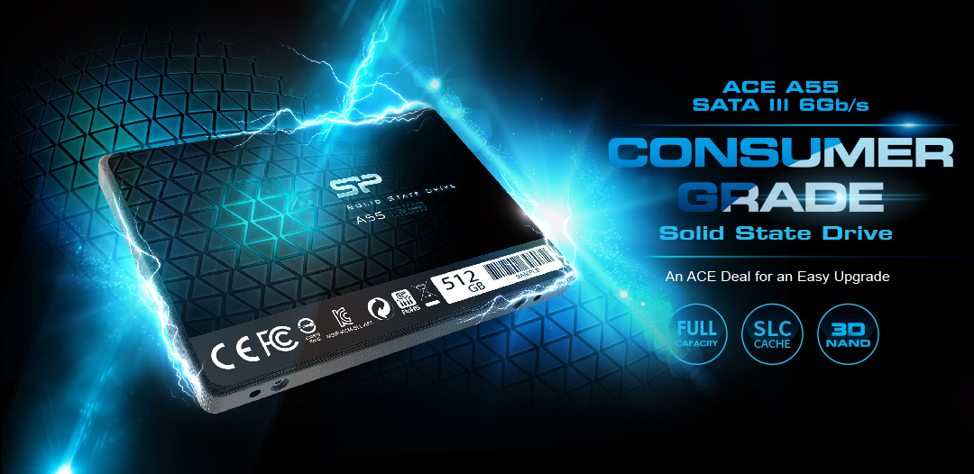 #SSD Silicon Power Ace A55 128GB M.2 (3D NAND)