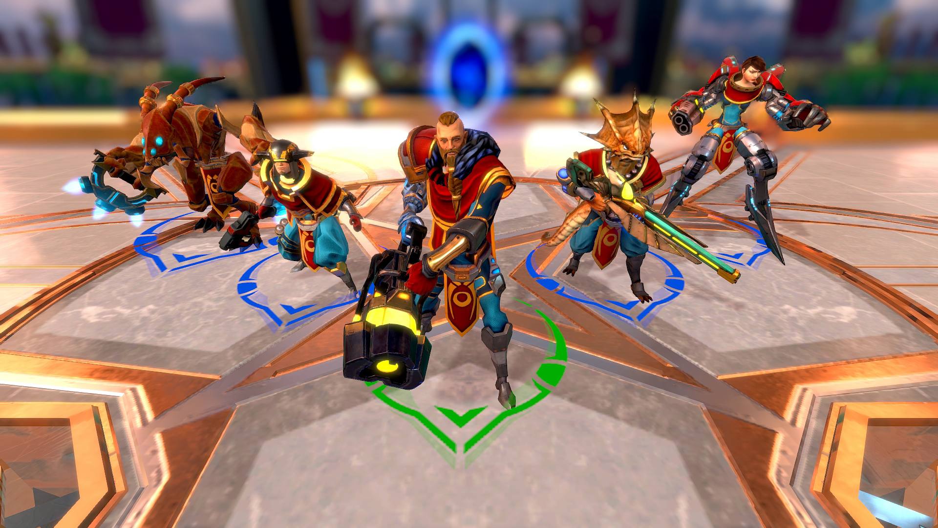 #Games Of Glory - Guardians Pack