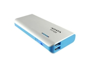 ADATA PT100 Power Bank 10000mAh, blue - APT100-10000M-5V-CWHBL