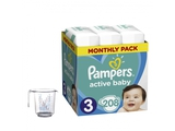 Pampers Pieluchy ABD Monthly Box 208 + KapuCup miarka temperatury wody
