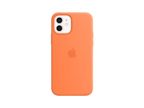 Apple iPhone 12 Pro Silicone Case with MagSafe - Kumquat - MHKY3ZM/A