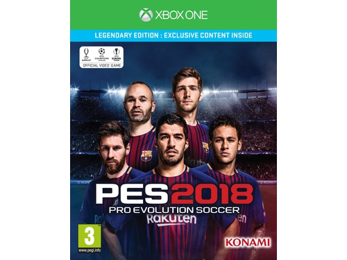 Gra Xbox One PES 2018 Legendary Edition