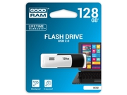 Pendrive GoodRam 128GB USB 2.0 UCO2-1280KWR11