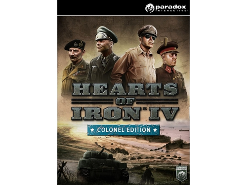 Gra wersja cyfrowa Hearts of Iron IV: Colonel Edition K00492