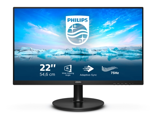 "MONITOR PHILIPS LED 21.5"" 221V8LD/00"