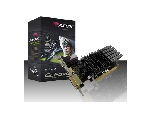 AFOX GEFORCE GT210 1GB DDR2 DVI HDMI VGA LOW PROFI - AF210-1024D2LG2-V7