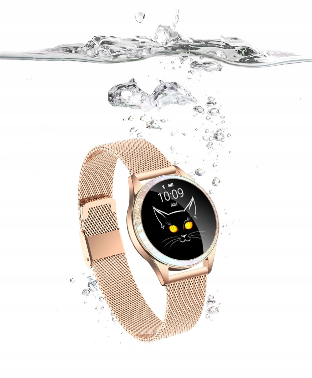 #Smartwatch OroMed ORO-SMART CRYSTAL GOLD