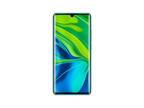 Smartfon XIAOMI Mi Note 10 128GB Green Bluetooth WiFi NFC GPS LTE Galileo DualSIM 128GB Android 9.0 Aurora Green