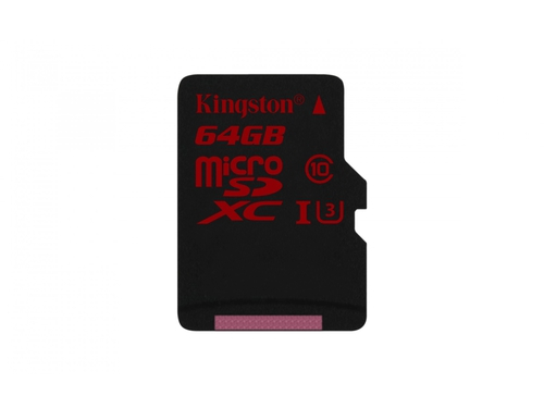 Karta pamięci Kingston Micro SD 90/80 MB/s UHS3 SDCA3 Bez adaptera 64GB - SDCA3/64GBSP