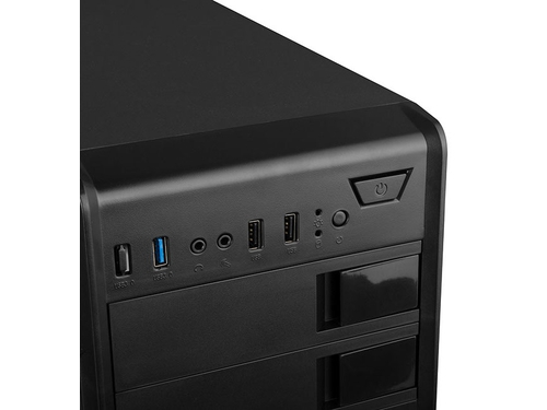 LOGIC Obudowa K2 , USB 3.0 x 1/ USB 2.0 x 2/ HD AUDIO/ W/O FAN - AT-K002-10-0000000-0002