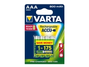 VARTA AKUMULATOR HR03/AAA 800MAH READY2USE 4 SZT. - 56703101404