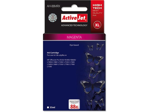 Activejet  tusz HP 9392 Large Magenta ref. no88