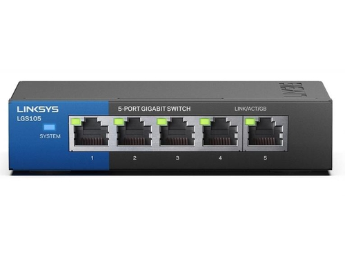 Switch Linksys Desktop LGS105-EU 5x 10/100/1000Mbps