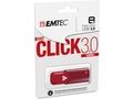 EMTEC FLASH CLICK FAST B100 256GB USB 3.0 RED - ECMMD256GB103R