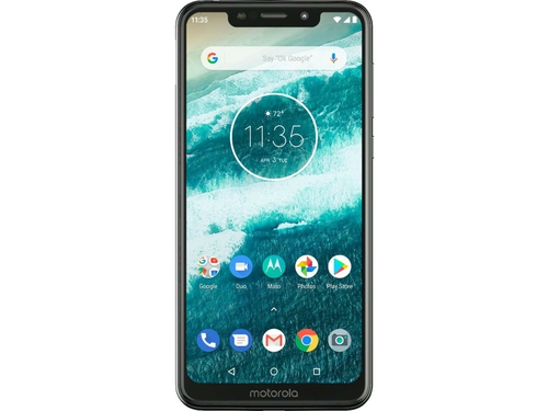 Smartfon Motorola One 64GB Black Bluetooth WiFi NFC GPS LTE Galileo 64GB Android 9.0 kolor czarny