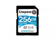 KINGSTON SDXC CANVAS GO UHS-I CL10 U3 V30 SDG/256GB