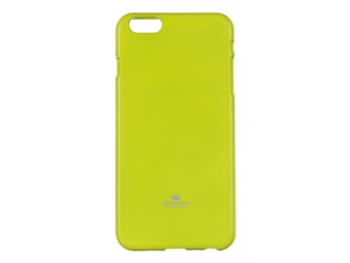 Etui GOOSPERY Jelly Case do iPhone 6 plus limonkowy - JC- IP6P-L