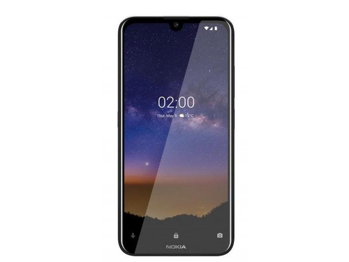 Smartfon Nokia 2.2 16GB Black HQ5020DF74000 GPS Bluetooth WiFi 16GB Android 9.0 Pie kolor czarny