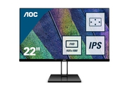 "MONITOR AOC LED 21,5"" 22V2Q"