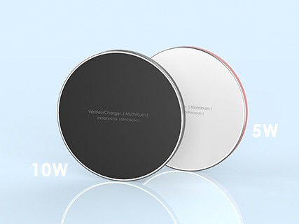 #Allocacoc Bezprz. Ład. Ind. WirelessCharger Alum.