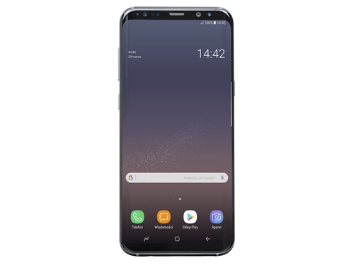 Smartfon Samsung Galaxy S8+ 64GB Orchid Gray Bluetooth WiFi NFC GPS LTE 64GB Android 7.0 Orchid Grey