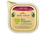 ALMO NATURE Daily Menu BIO Dog Wołowina z warz 100g