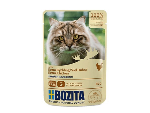 BOZITA Pouch HiS extra Chicken 85g